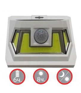 Настенный LED светильник на солнечной батарее VARGO 8W COB белый