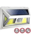 Настенный LED светильник на солнечной батарее VARGO 10W COB IP65 белый