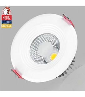 Светильник точечный врезной COB LED Horoz VANESSA 5W 6400K