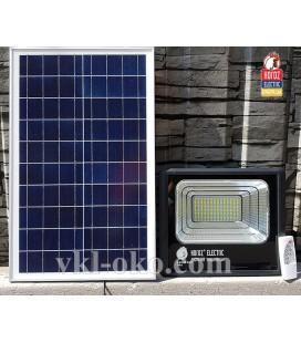 Прожектор светодиодный на солнечной батарее TIGER-25 25W 6400K пульт управления