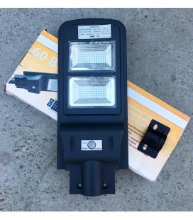 Уличный светодиодный фонарь ДКУ на солнечных батареях 60W 6500К IP65