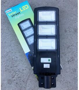 Уличный светодиодный фонарь ДКУ на солнечных батареях SunLight 60W 6500К IP65