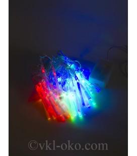 Гирлянда Кисточки 40 шт 5 м, разноцветные