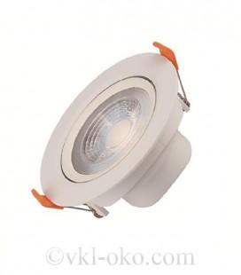 Светильник точечный врезной LED Horoz NORA-7 7W