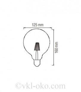 Лампа Filament RUSTIC MERIDIAN 6W E27