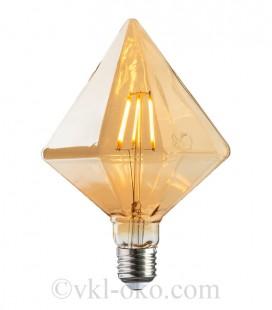 Лампа Filament RUSTIC PYRAMID 6W E27