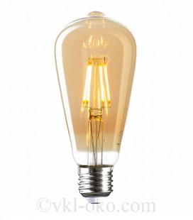 Лампа Filament RUSTIC VINTAGE 6W E27