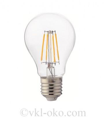 Светодиодная лампа LED Horoz FILAMENT GLOBE-6 6w Е27