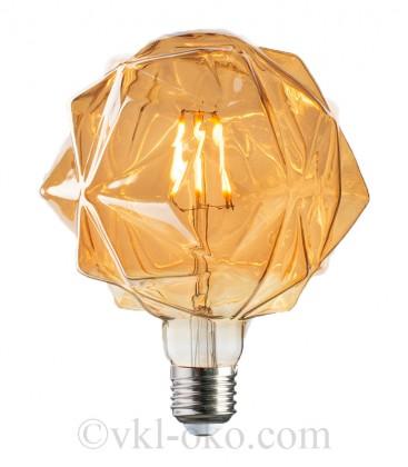 Лампа Filament RUSTIC CRISTAL 6W E27