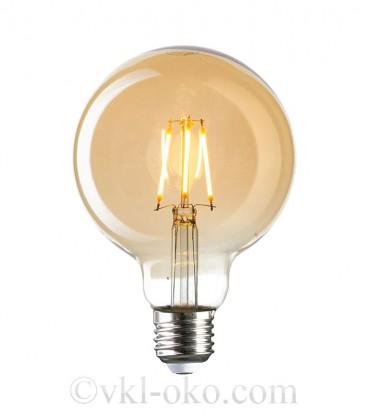 Лампа Filament RUSTIC GLOBE 4W E27