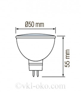 Светодиодная лампа MR 16 FONIX-6 6W GU5.3