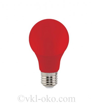 Светодиодная лампа SPECTRA 3W E27 красная