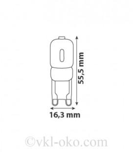 Светодиодная лампа DECO-7 7W G9