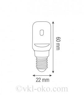 Светодиодная лампа GIGA-4 4W E14
