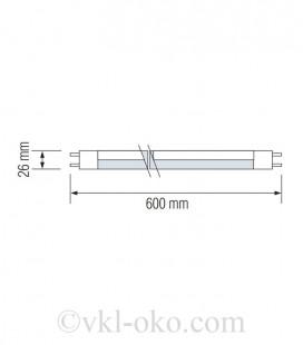 Светодиодная лампа TUBE-60 9W T8 G13