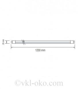 Светодиодная лампа TUBE-120 18W T8 G13