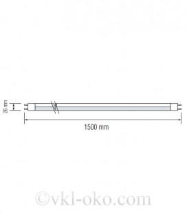 Светодиодная лампа TUBE-150 24W T8 G13