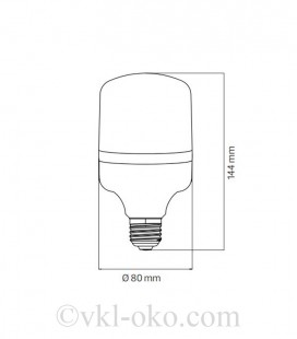 Cветодиодная лампа TORCH-20 20W E27