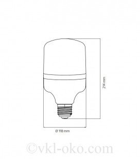 Светодиодная лампа TORCH-40 40W E27