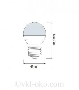 Светодиодная лампа ELITE-4 4W E27