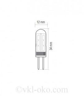 Светодиодная лампа MICRO-2 1,5W G4
