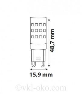 Светодиодная лампа PETA-4 4W G9