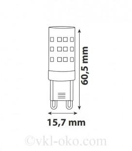 Светодиодная лампа PETA-6 6W G9
