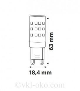 Светодиодная лампа PETA-10 10W G9