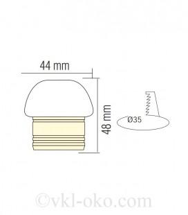 Светильник точечный врезной LISA 3W