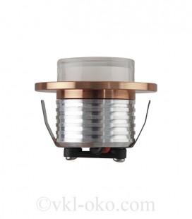 Светильник точечный врезной BELLA 3W