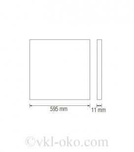 Светодиодный светильник врезной GALAKSİ-45 45W