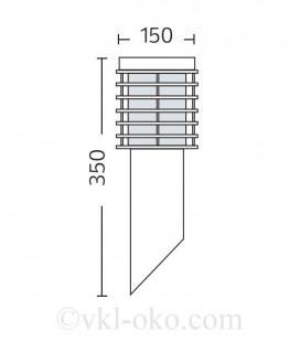 Ландшафтный светильник PALMIYE-1 100W E27