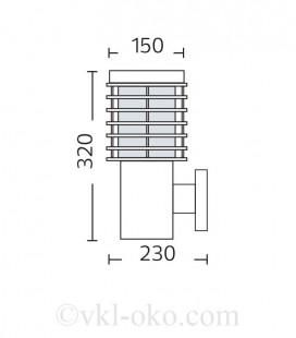 Ландшафтный светильник PALMIYE-2 100W E27