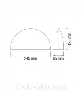 Светильник садово-парковый ARDIC 5,5W