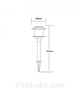 Светильник садово-парковый на солнечной батарее VENUS 0.06W