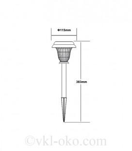 Светильник садово-парковый на солнечной батарее HALLEY 0.06W