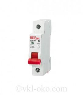 Автоматический выключатель SAFE 6А 1P В