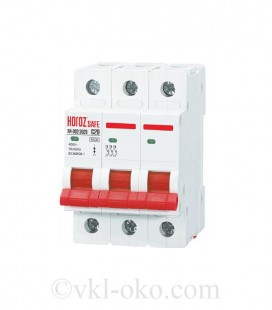 Автоматический выключатель SAFE 20А 3P C