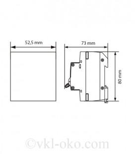 Автоматический выключатель SAFE 25А 3P C