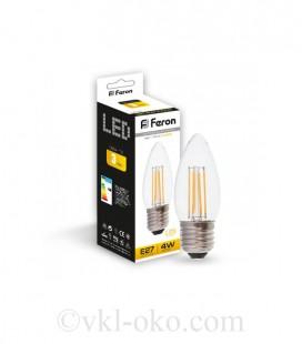 Светодиодная лампа Filament LB-58 4W E27