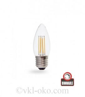 Светодиодная лампа Filament LB-58 4W E27 диммируемая