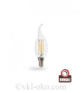 Светодиодная лампа Filament LB-69 4W E14 диммируемая