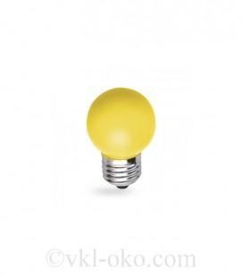 Светодиодная лампа Feron LB-37 1W E27 желтая