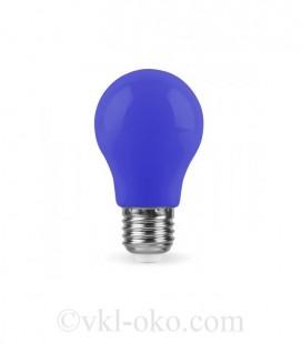 Светодиодная лампа LB-375 3W E27 синяя