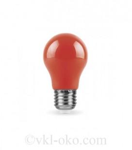 Светодиодная лампа LB-375 3W E27 красная