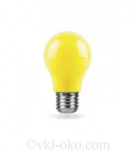 Светодиодная лампа LB-375 3W E27 желтая
