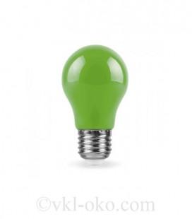 Светодиодная лампа LB-375 3W E27 зеленая