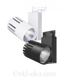 Трековый светодиодный светильник Feron AL105 40W