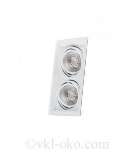 Светодиодный светильник Feron AL202 2x12W