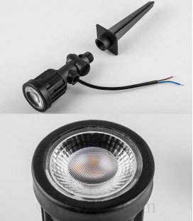 Светодиодный грунтовой светильник Feron SP1402 3W RGB